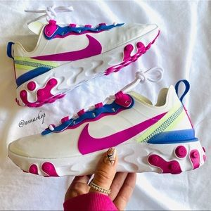 New Nike react element 55 sneakers